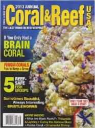 2013 Annual Coral Reef: Cover