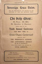 The Holy Ghost: Cover