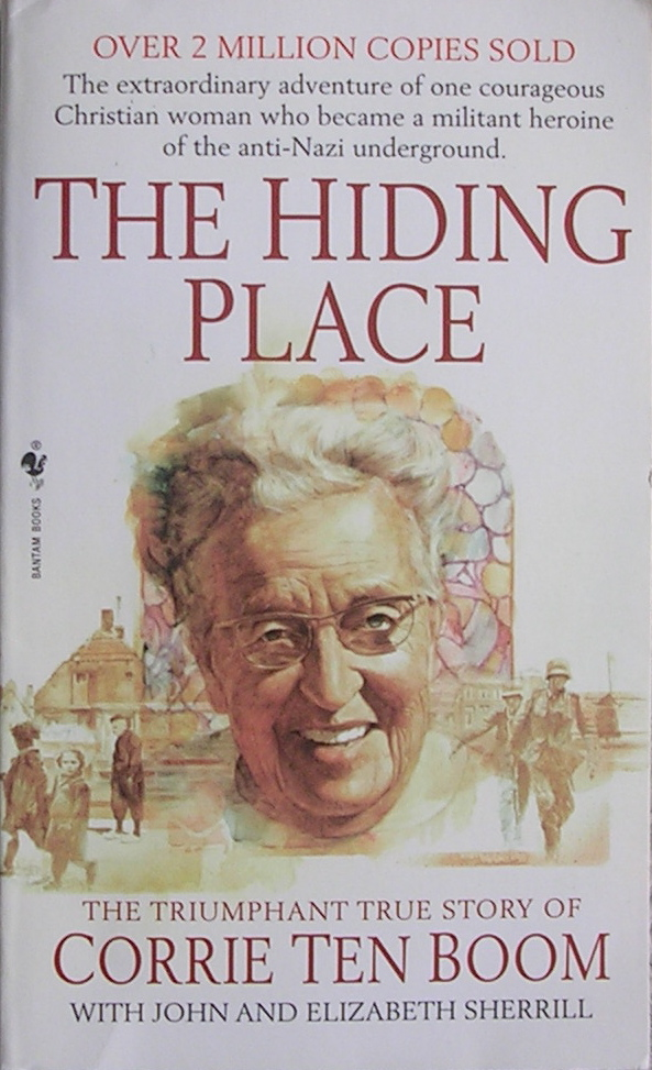 hiding place book report
