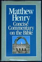 Matthew Henry: Cover