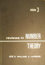 Reviews in Number Theory—Volume 3: Cover