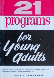 21 Programs for Young Adults: Cover