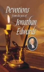 Devotions from the Pen of Jonathan Edwards: Cover