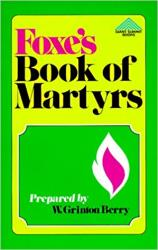 Foxe's Book of Martyrs: Cover