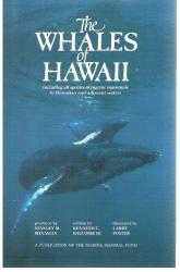 Whales of Hawaii: Cover