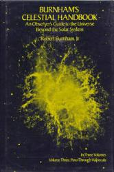 Burnham's Celestial Handbook, Volume Three: Cover