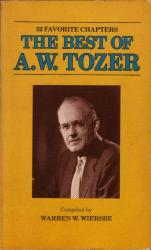 Best of A.W. Tozer: Cover