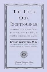 Lord Our Righteousness: Cover