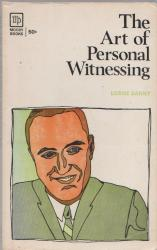 Art of Personal Witnessing: Cover