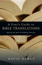 User's Guide to Bible Translations: Cover