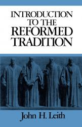 Introduction to the Reformed Tradition: Cover