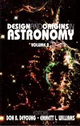 Design and Origins in Astronomy, Volume 2: Cover