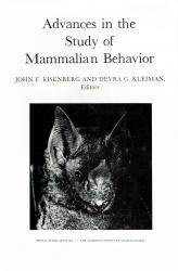 Advances In the Study of Mammalian Behavior: Cover