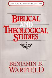 Biblical and Theological Studies: Cover
