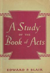 Study of the Book of Acts: Cover