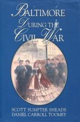 Baltimore During the Civil War: Cover