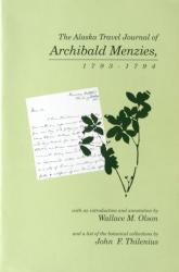 Alaska Travel Journal of Archibald Menzies: Cover