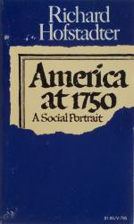America at 1750: Cover