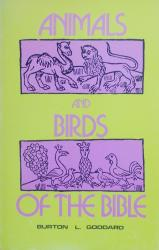 Animals and Birds of the Bible: Cover