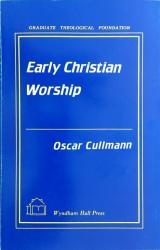 Early Christian Worship: Cover