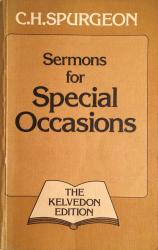 Sermons for Special Occasions: Cover