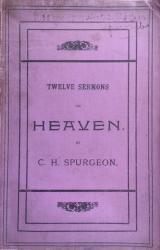 Twelve Sermons on Heaven: Cover