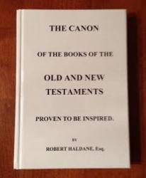 Canon of the Books of the Old and New Testaments Proven to Be Inspired: Cover