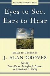 Eyes to See, Ears to Hear: Cover