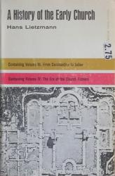 A History of the Early Church: Volumes III & IV: Cover