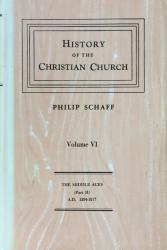 History of the Christian Church: Cover