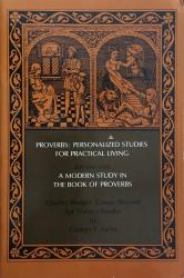 Proverbs: Personalized studies for practical living: Cover