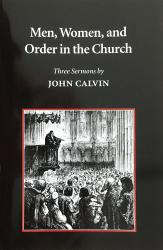 Men, Women, and Order in the Church: Cover