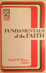 Fundamentals of the Faith: Cover