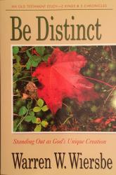 Be Distinct (2 Kings, 2 Chronicles): Cover