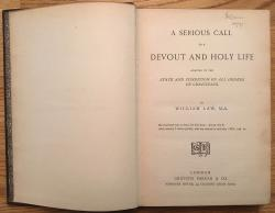Serious Call to a Devout and Holy Life: Title Page