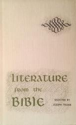 Literature from the Bible: Cover