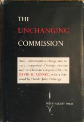 Unchanging Commission: Cover