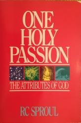 One Holy Passion: Cover