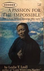 Passion for the Impossible: Cover