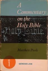 Matthew Poole — A Commentary on the Bible: Genesis-Job: Cover