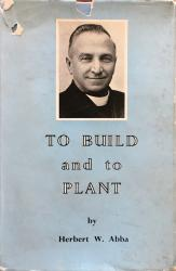 To Build and to Plant: Cover