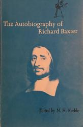 Autobiography of Richard Baxter: Cover