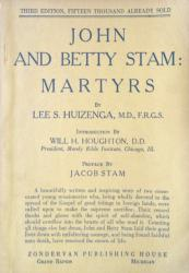 John and Betty Stam: Cover