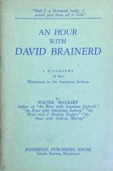 An Hour with David Brainerd: Cover