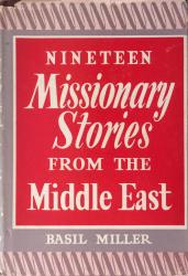Nineteen Missionary Stories from the Middle East: Cover