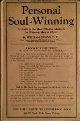 Personal Soul-Winning: Cover