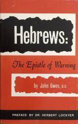 Hebrews: Cover
