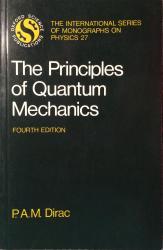 Principles of Quantum Mechanics: Cover