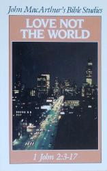 Love Not the World: Cover
