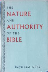 Nature and Authority of the Bible: Cover